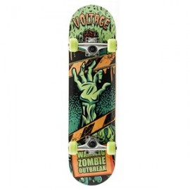 Zombies (Green) Voltage (SB1300) Skateboard