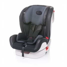 4baby FLY-FIX Isofix dark grey 9-36 kg