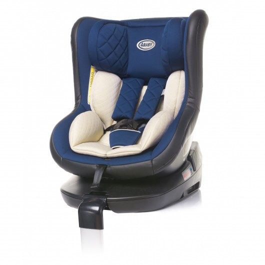 4baby ROLL-FIX ISOFIX navy blue 0-18kg